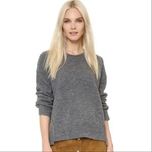 Madewell Connection Sweater Gray Boxy Oversized L